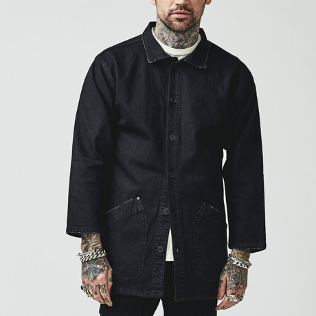 Tenchi Japanese Jacket // Onyx Black (X-Small)