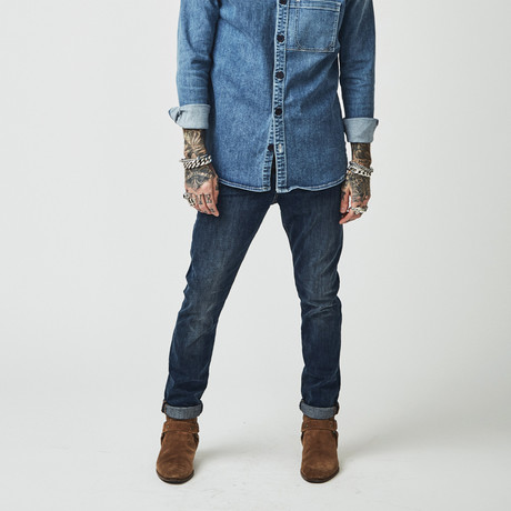 Nimes Skinny Denim // Olden Indigo (30)