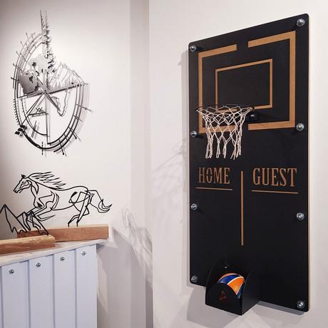 Mega Craft Basketball Wall Game