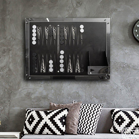 Backgammon Wall Game