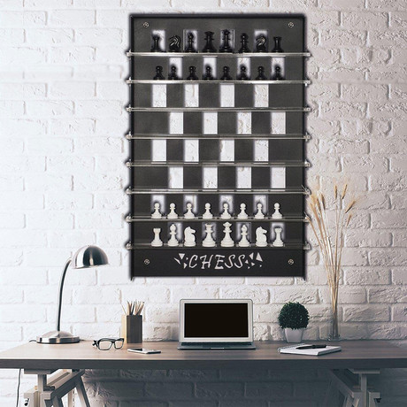 Chess Wall Game