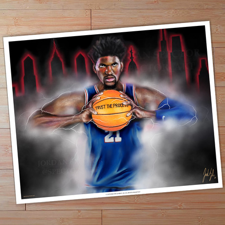 Sixers // The Process // Art Print