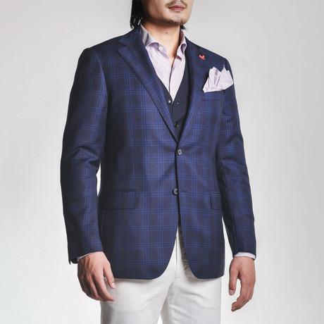 Ashton Sport Jacket // Navy Plaid (US: 38S)