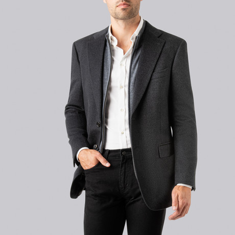 Andrew Sport Jacket // Charcoal (US: 38S)