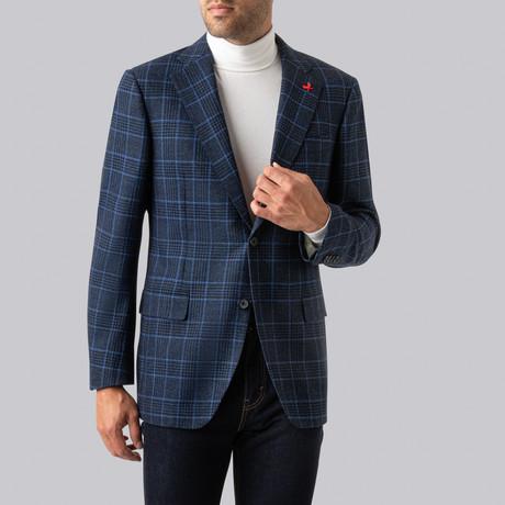 Augustus Sport Jacket // Blue + Gray Check (US: 38R)