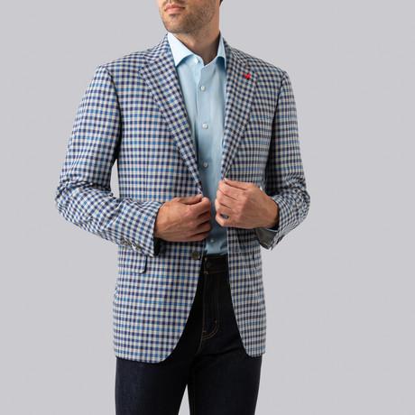 Ashton Sport Jacket // Blue + Navy Check (US: 38R)