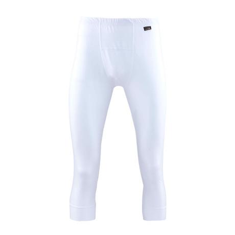 Men's Thermal Long Pants // White (S)