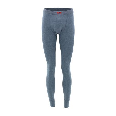 Men's Thermal Long Pants // Gray Melange (S)