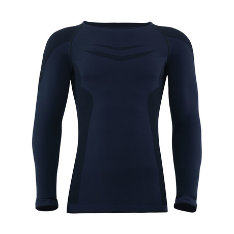Long Sleeve Unisex Thermal T-Shirt // Black (S)