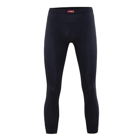 Men's Thermal Below Knee Pants // Black (S)