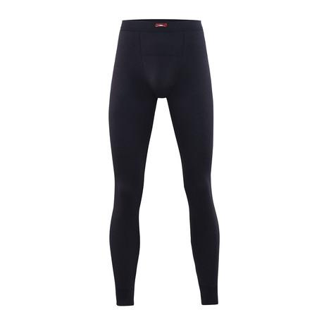 Men's Thermal Long Pants // Black (S)