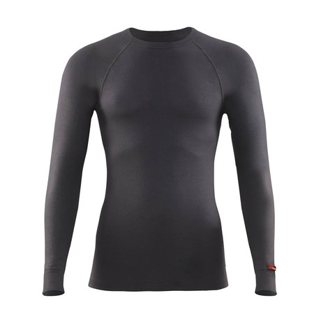 Long Sleeve Crewneck Thermal T-Shirt // Anthracite (S)
