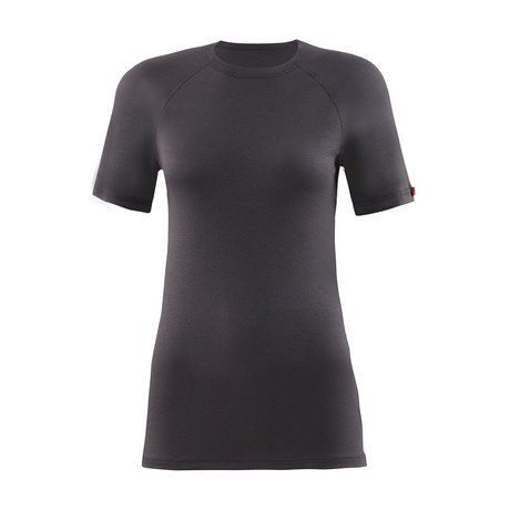 Short Sleeve Unisex Thermal T-Shirt // Anthracite (S)