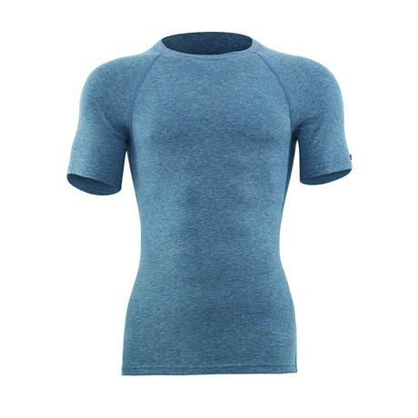 Crewneck Short Sleeve Unisex Thermal T-Shirt // Gray Melange (S)