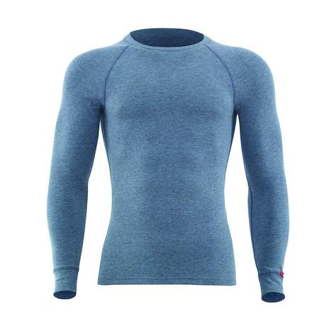 Crewneck Long Sleeve Unisex Thermal T-Shirt // Gray Melange (S)