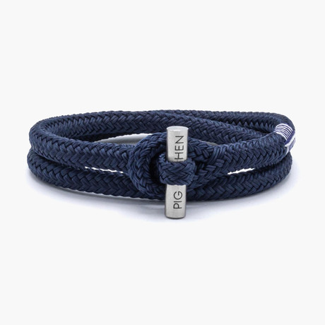 Tiny Ted // Navy // Silver Clasp (M)