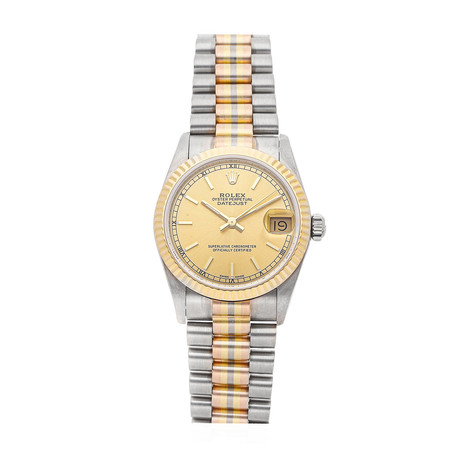 Rolex Ladies Datejust Automatic // 68279 // 9.3 Million Serial // Pre-Owned