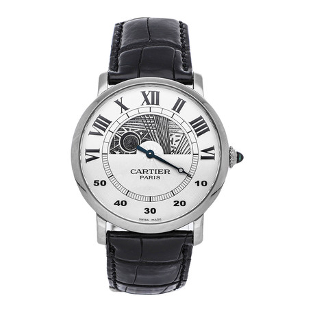 Cartier Rotonde Manual Wind // W1550151 // Pre-Owned