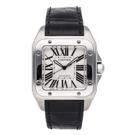 Cartier Santos 100 Automatic // W20076X8 // Pre-Owned