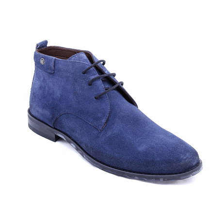 Suede Chukka Boots // Navy (Euro: 38)