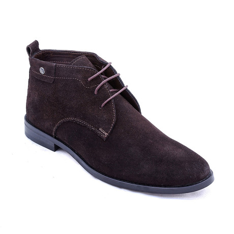 Suede Chukka Boots // Brown (Euro: 38)