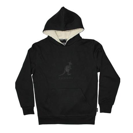 Sherpa Hoodie // Black (S)