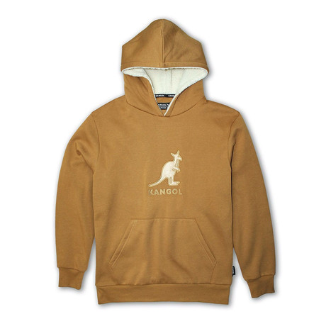 Sherpa Hoodie // Tanned Leather (S)