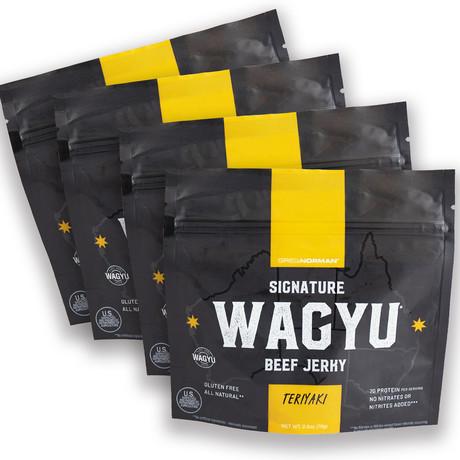 Teriyaki Wagyu Jerky // Pack of 4