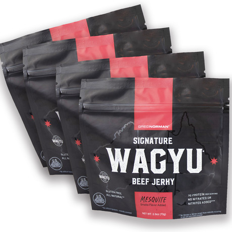 Mesquite Wagyu Jerky // Pack of 4