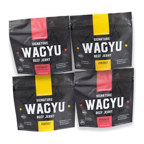 Variety Wagyu Jerky // Pack of 4