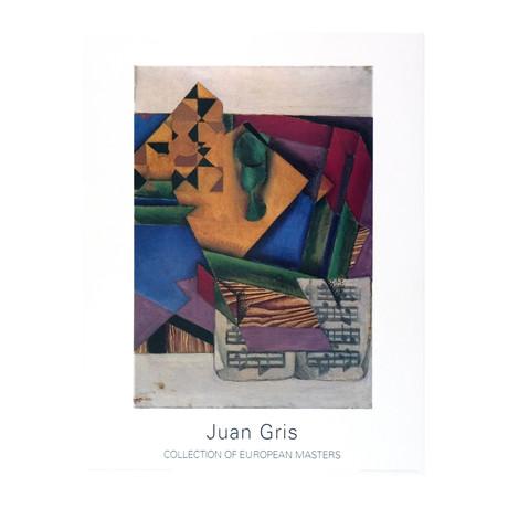 Juan Gris // Das Notenblatt // 1995 Offset Lithograph