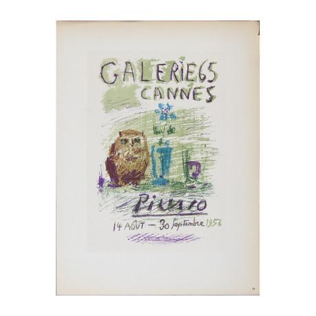 Pablo Picasso // Galerie 65 // 1959 Lithograph