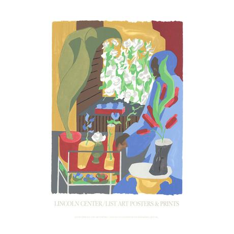Jacob Lawrence // Floral Supermarket // 1996 Serigraph