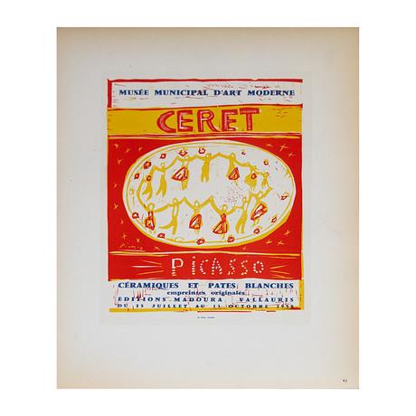 Pablo Picasso // Musee Municipal Ceret // 1959 Lithograph