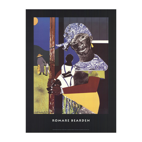 Romare Bearden // Come Sunday // Offset Lithograph