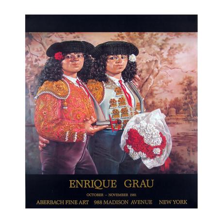 Enrique Grau // Las Toreras // 1981 Offset Lithograph