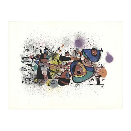 Joan Miro // Ceramics (Restrike) // 1972 Lithograph