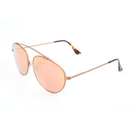 Men's Leon Spektra Sunglasses // Gold