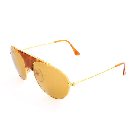 Men's Leon Thompson Sunglasses // Gold