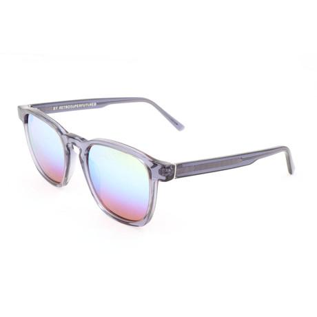 Men's Unico Sunglasses // Gray Transparent