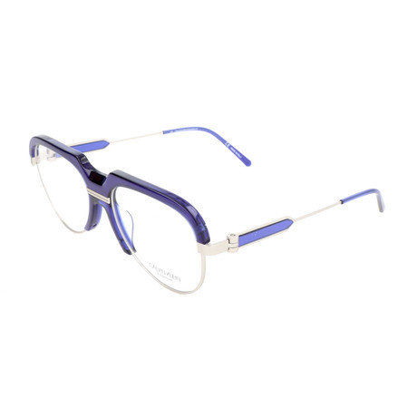 Men's CKNYC1970 Optical Frames // Crystal Cobalt