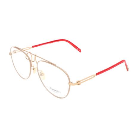 Unisex CKNYC1811 Optical Frames // Beige
