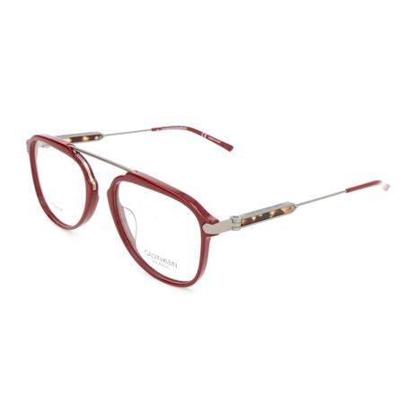 Men's CKNYC1872 Optical Frames // Burgundy