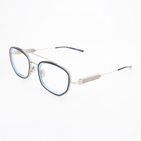 Men's CKNYC1918 Optical Frames // Navy + Crystal Light Blue