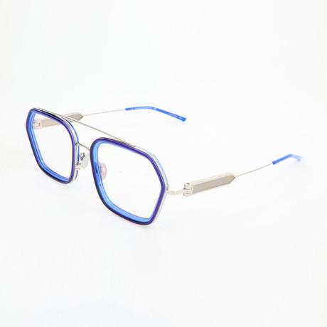 Unisex CKNYC1915 Optical Frames // Navy + Crystal Cobalt