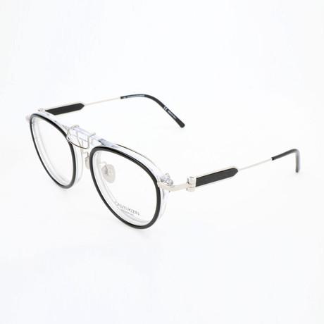 Women's CKNYC1884 Optical Frames // Black + Crystal