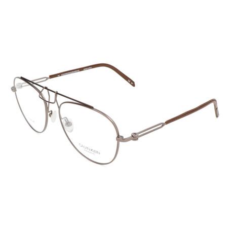 Unisex CKNYC1811 Optical Frames // Gunmetal