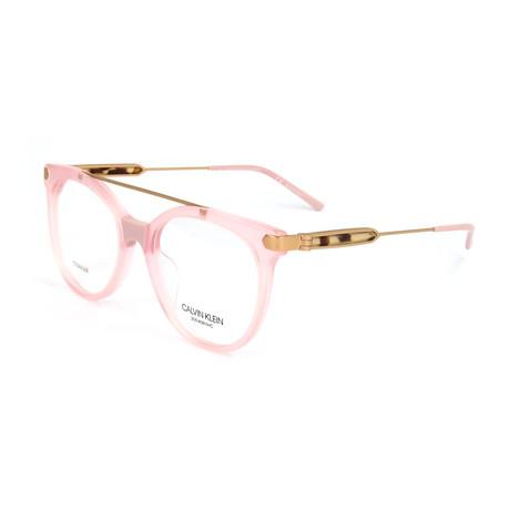 Women's CKNYC1871 Optical Frames // Milky Light Pink