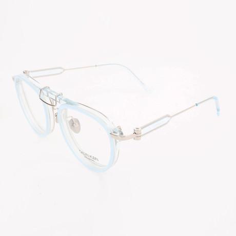Women's CKNYC1884 Optical Frames // Sky + Crystal Light Blue