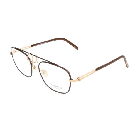 Men's CKNYC1810 Optical Frames // Brown